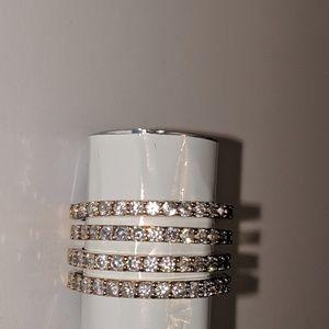 Michael Kors Jewelry - Michael Kors Semi Eternity Stacking Rings